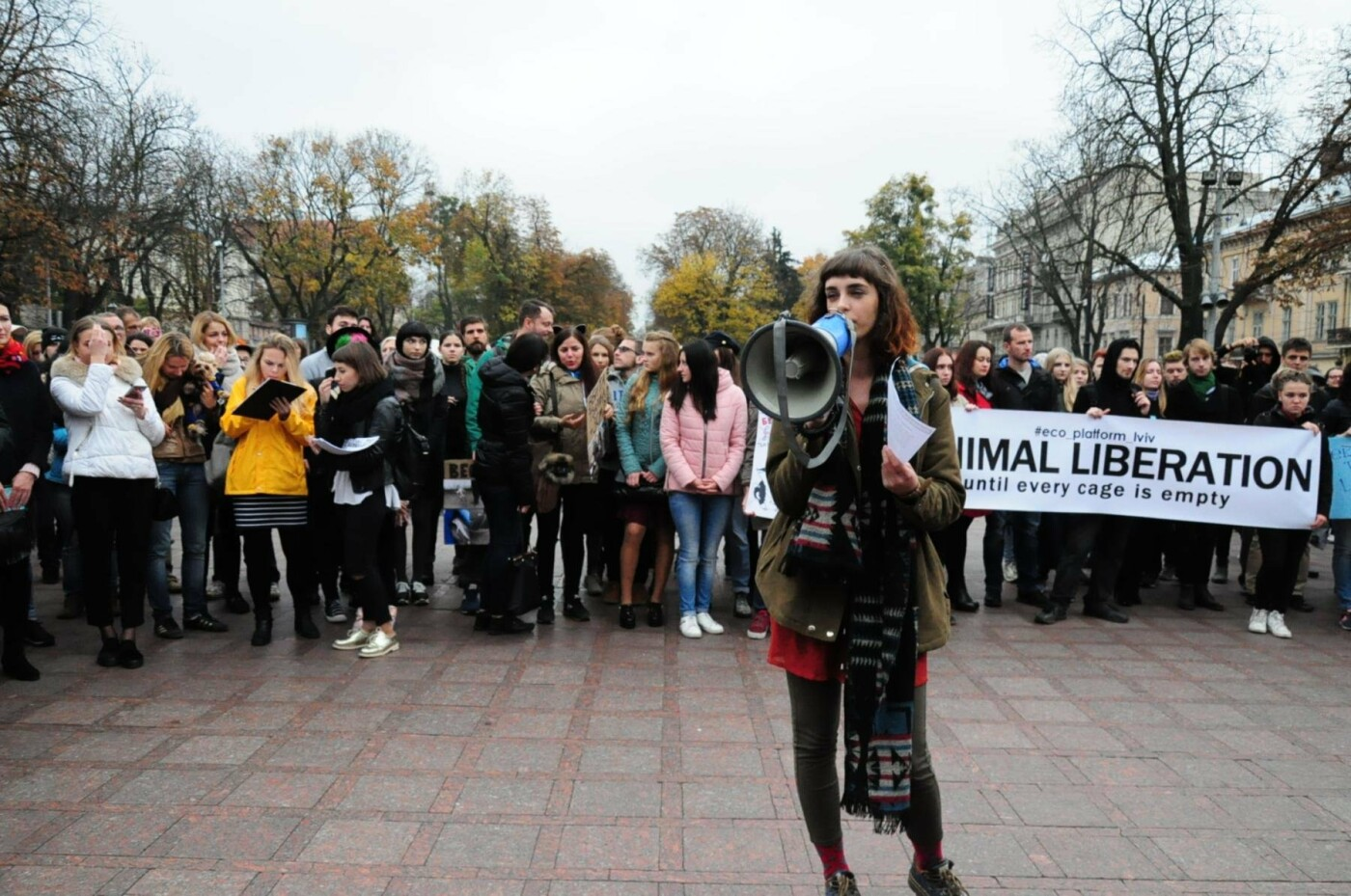 Львів'яни взяли участь у масштабному Марші на захист тварин. Фоторепортаж, фото-11