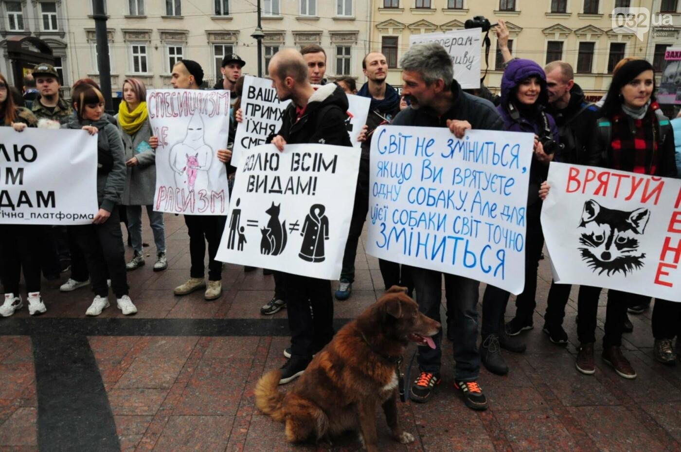 Львів'яни взяли участь у масштабному Марші на захист тварин. Фоторепортаж, фото-8