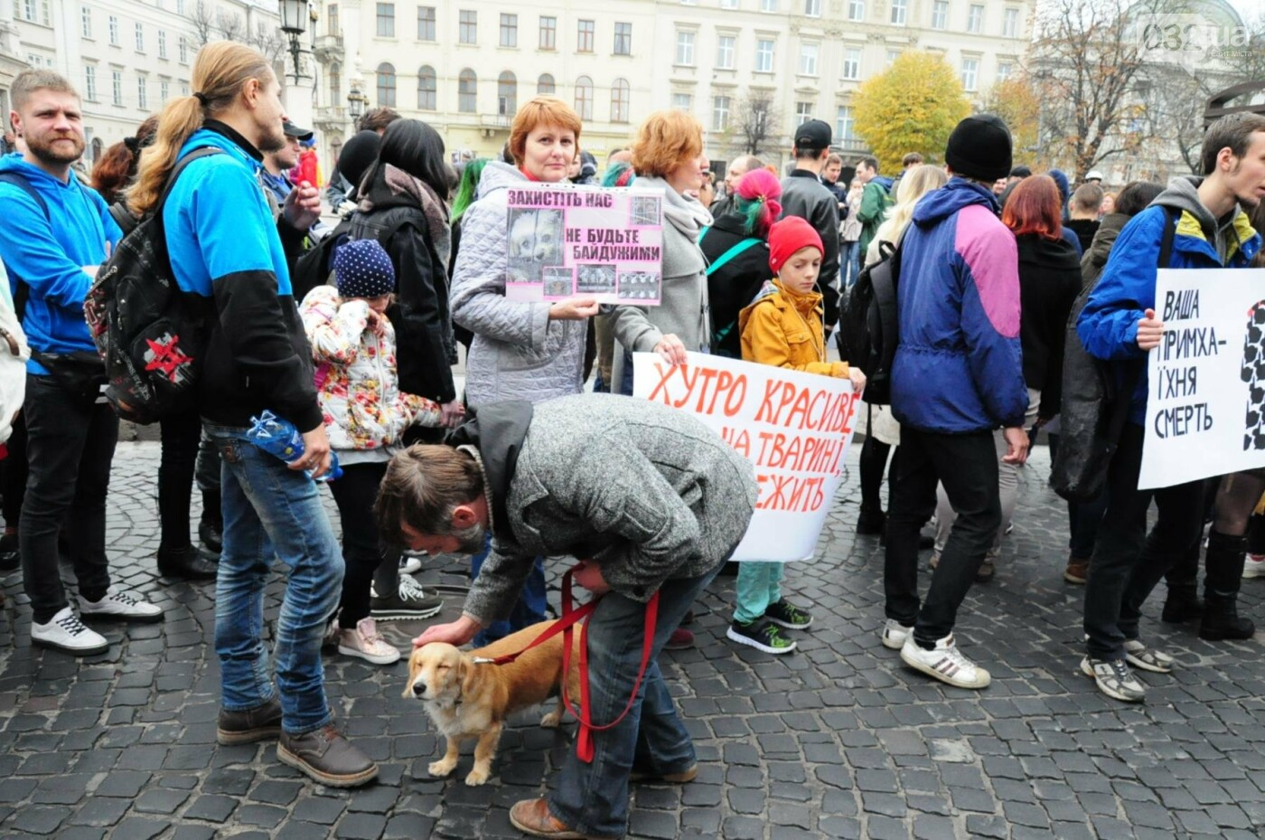 Львів'яни взяли участь у масштабному Марші на захист тварин. Фоторепортаж, фото-28