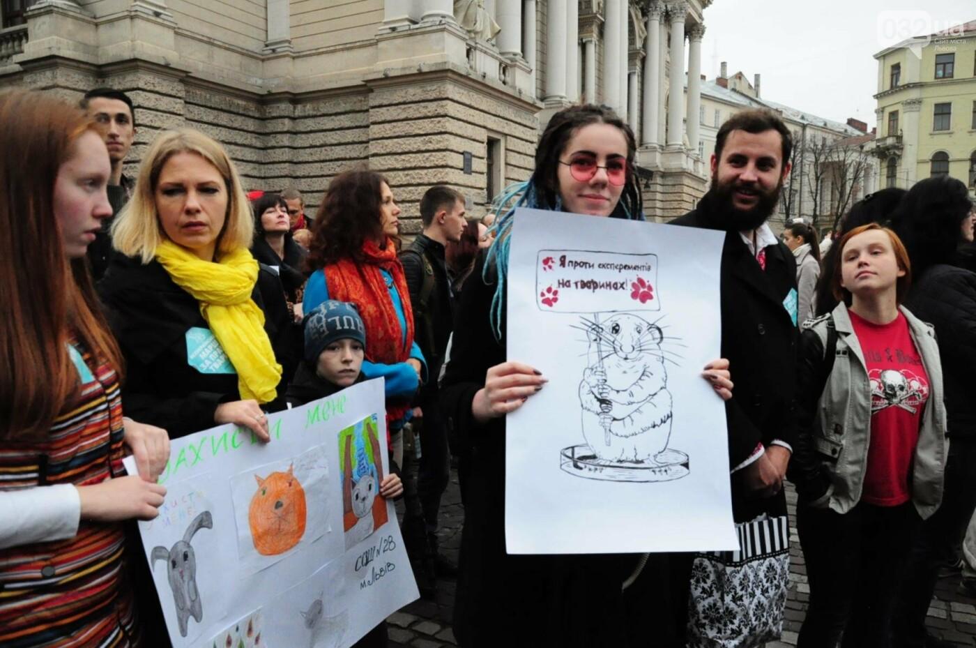 Львів'яни взяли участь у масштабному Марші на захист тварин. Фоторепортаж, фото-23