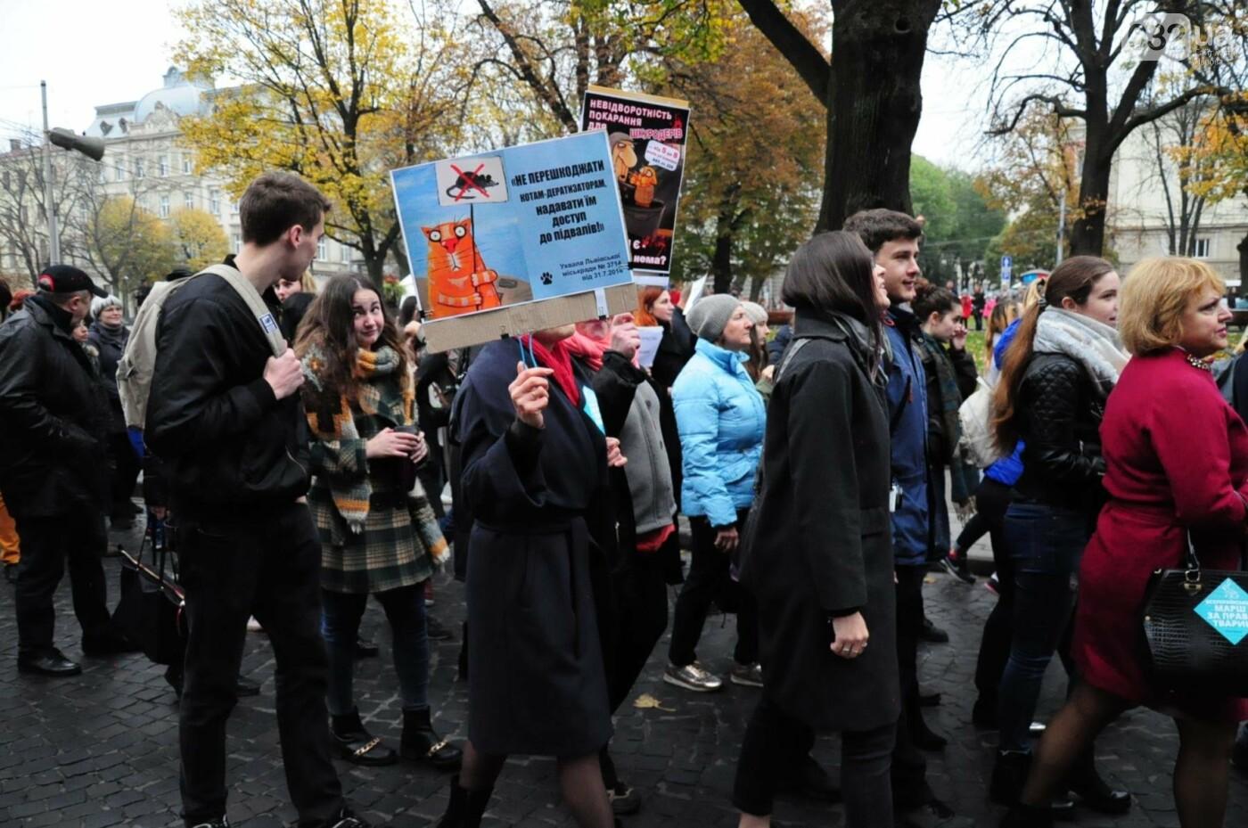 Львів'яни взяли участь у масштабному Марші на захист тварин. Фоторепортаж, фото-34