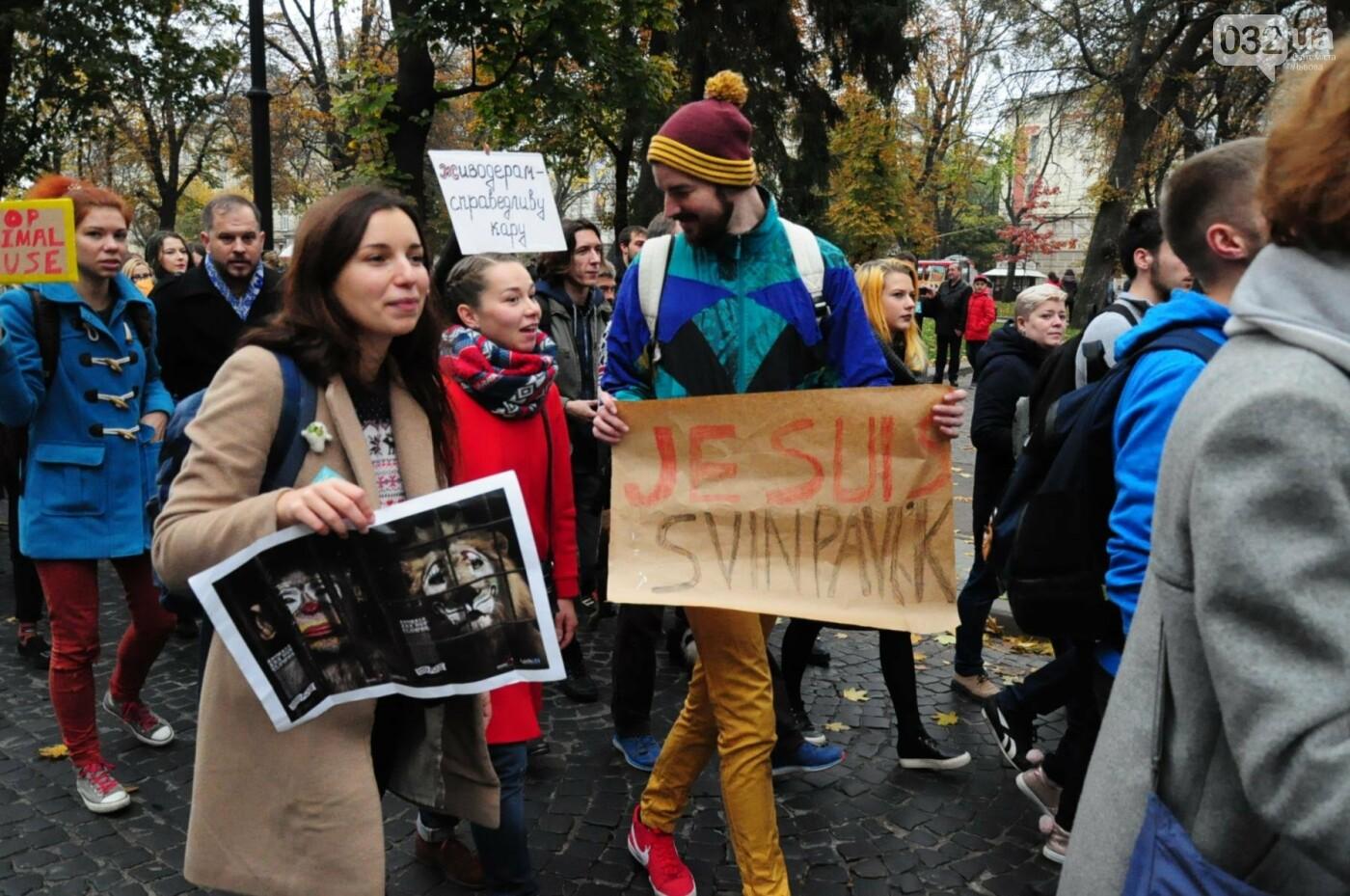 Львів'яни взяли участь у масштабному Марші на захист тварин. Фоторепортаж, фото-33