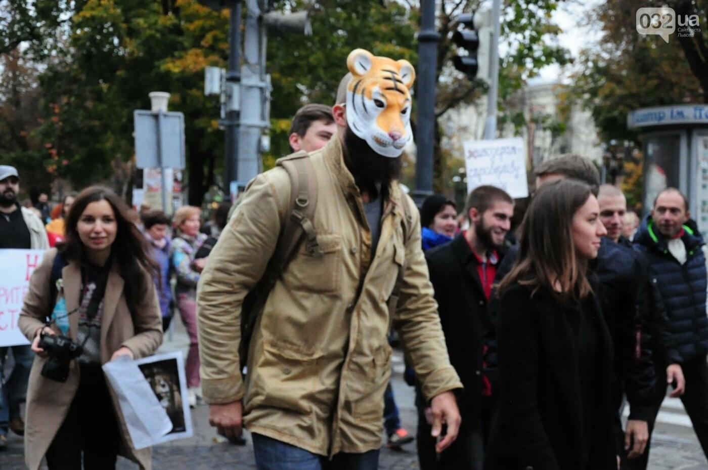 Львів'яни взяли участь у масштабному Марші на захист тварин. Фоторепортаж, фото-25