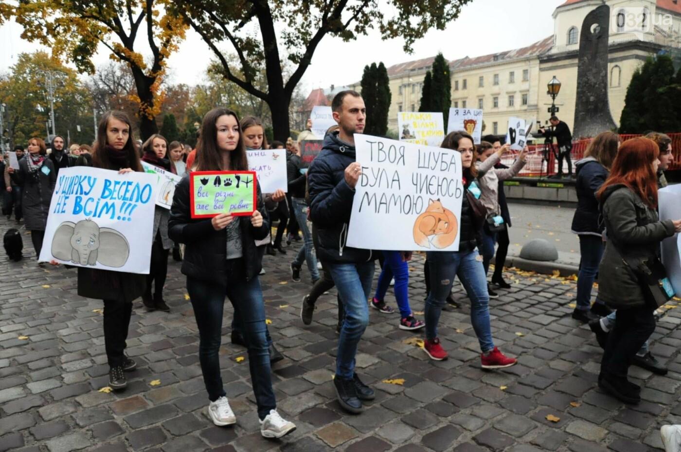 Львів'яни взяли участь у масштабному Марші на захист тварин. Фоторепортаж, фото-20