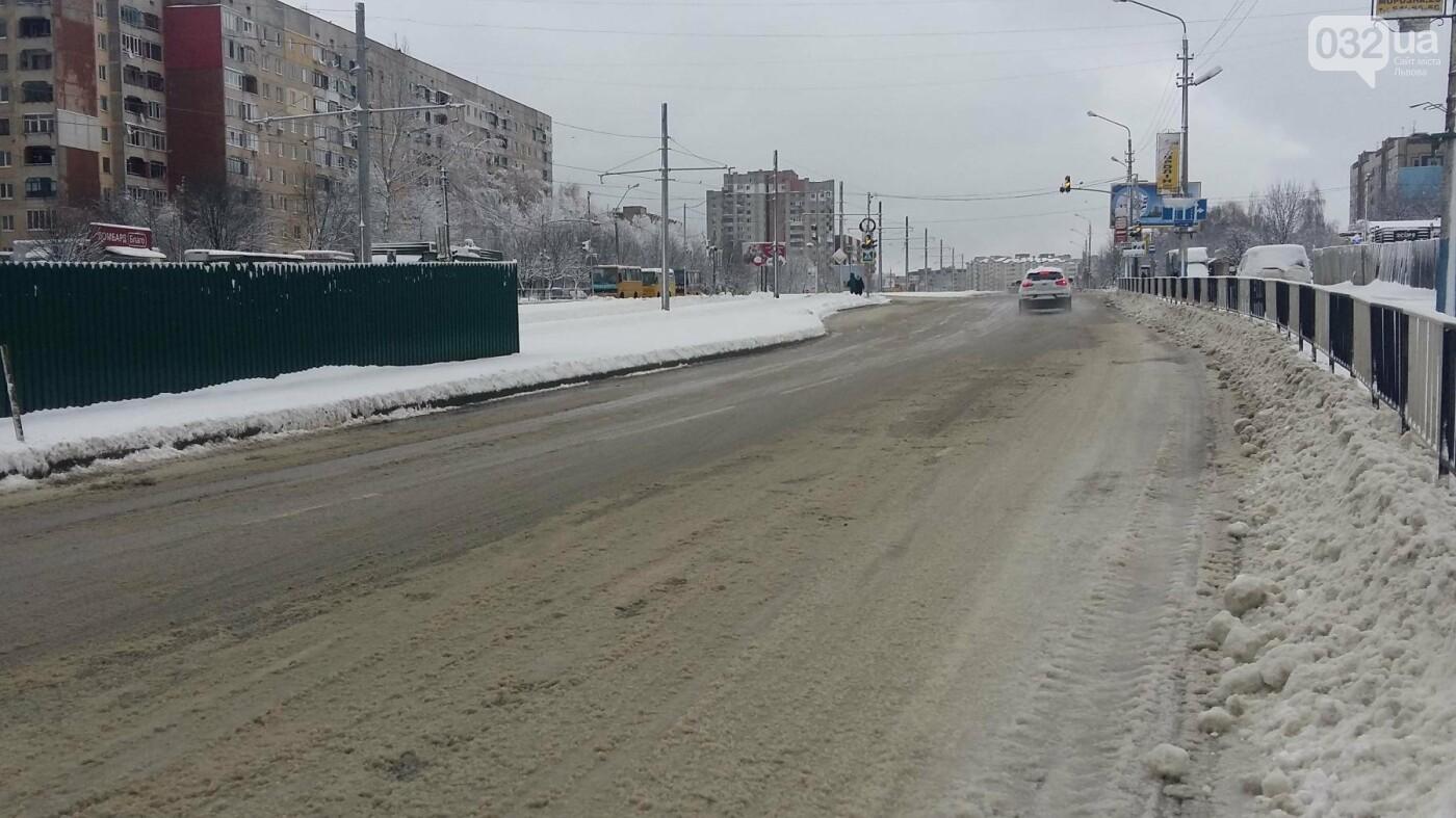 До Львова повернулася зима: як розчищають вулиці міста. Фото, фото-2