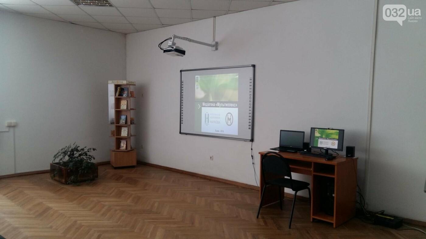 У Львові в розумному районі відкрили першу медіатеку: як це виглядає , фото-1