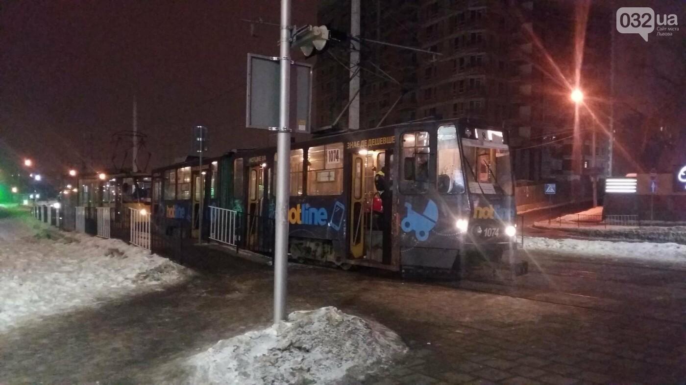 Трамвай на Сихові травмував 67-річного чоловіка. Фото, фото-2