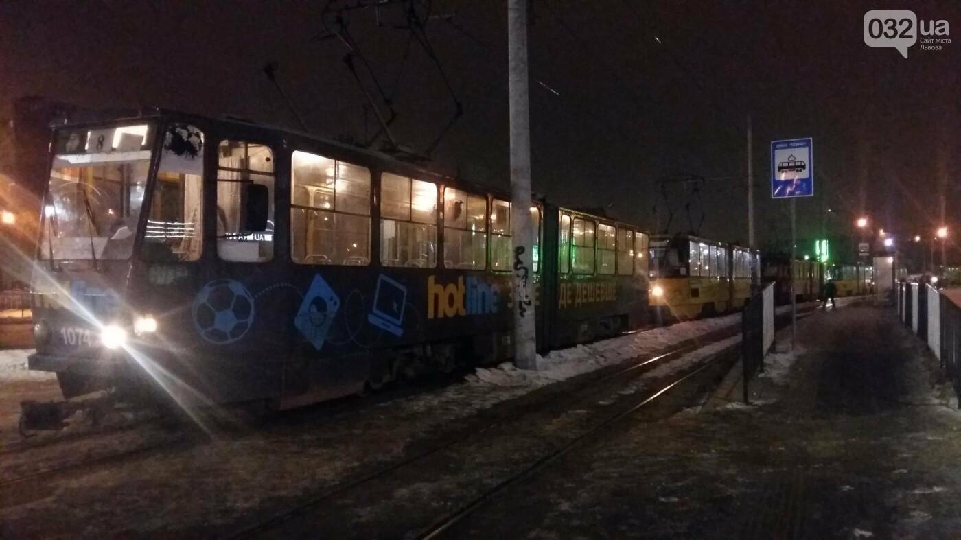 Трамвай на Сихові травмував 67-річного чоловіка. Фото, фото-1