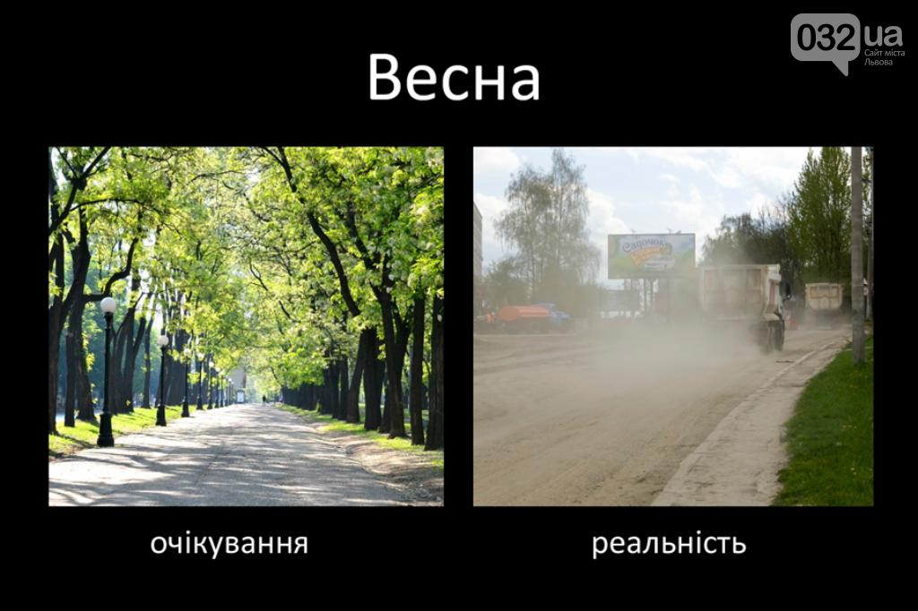 Фото: вулиці Львова навесні, автор: Мирослав Голяк, Христина Кушнір/ Фейсбук