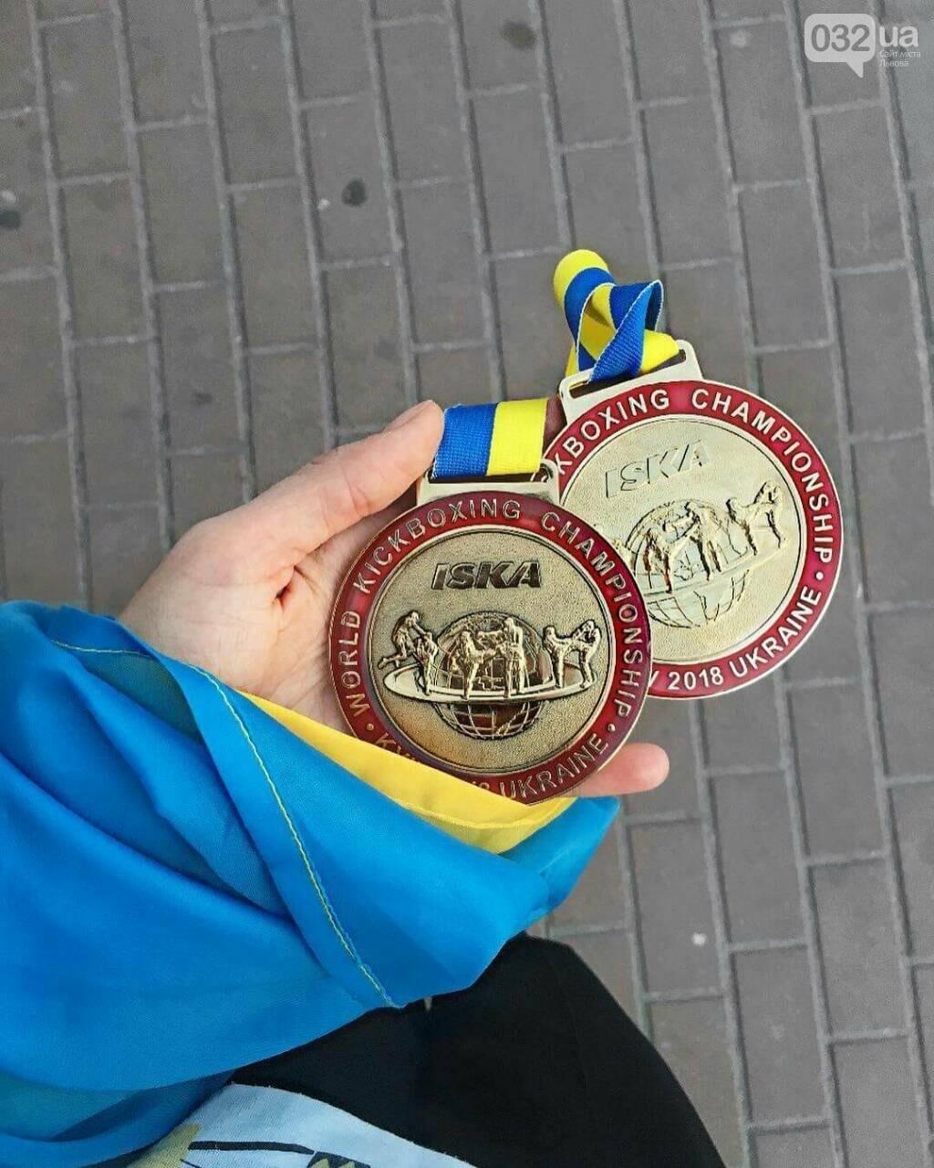 Львів'янка виграла дві золоті медалі на чемпіонаті світу з кікбоксингу (ФОТО), фото-3