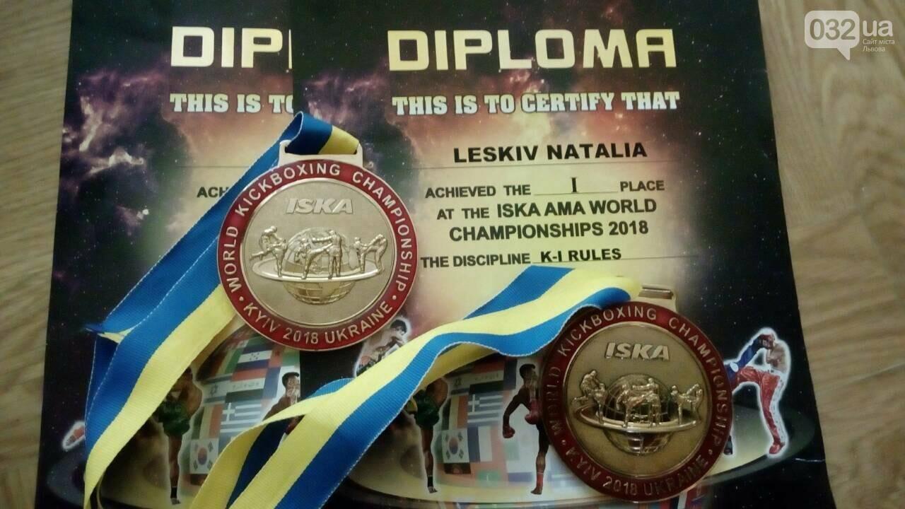 Львів'янка виграла дві золоті медалі на чемпіонаті світу з кікбоксингу (ФОТО), фото-2
