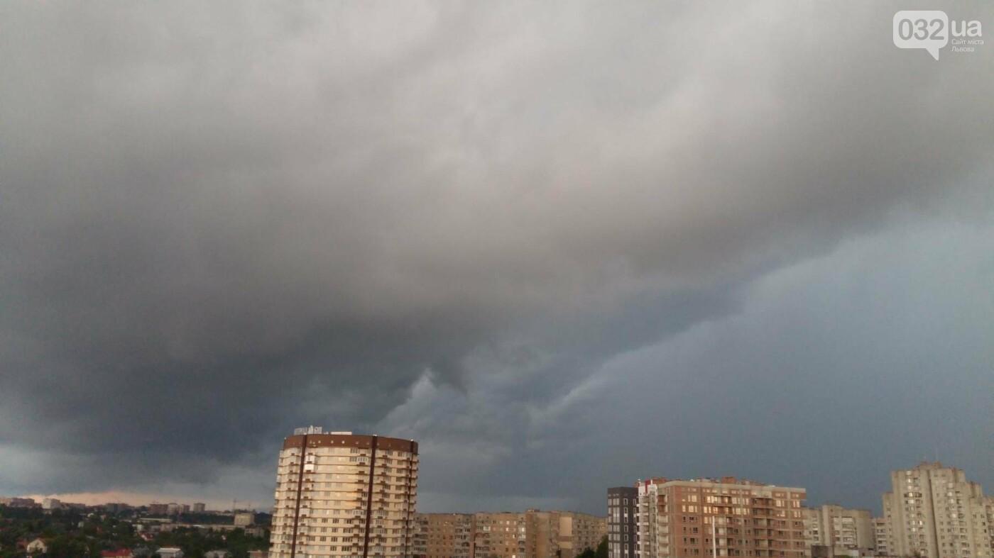 Фото дня: на Львів насувається гроза , фото-1