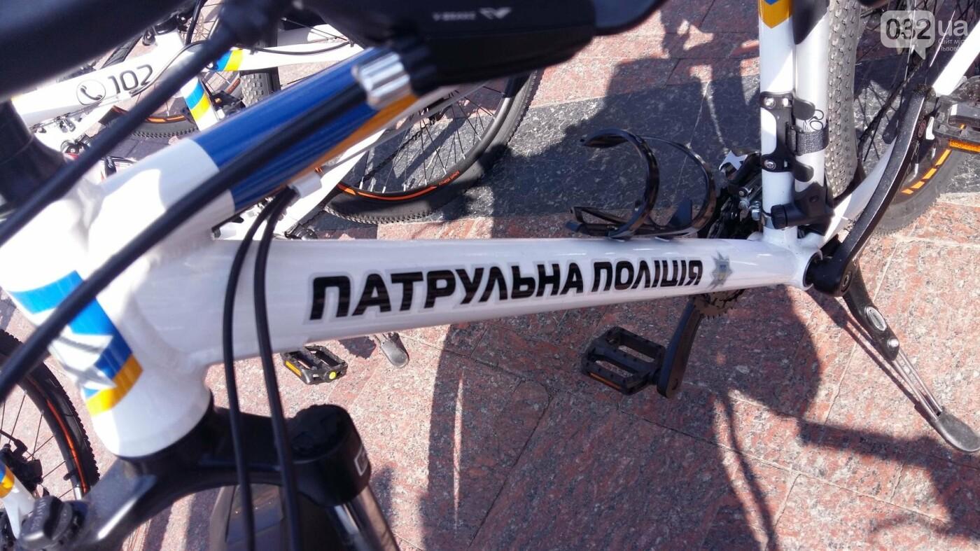У Львові з'явилися патрульні на велосипедах, - ФОТО, ВІДЕО, фото-1