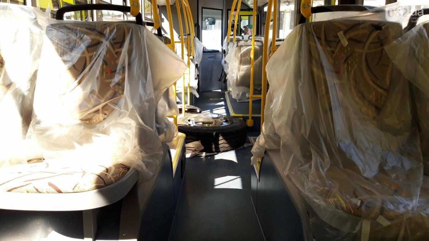 До Львова прибули 16 білоруських автобусів: як вони виглядають та коли почнуть курсувати містом, - ФОТО, фото-3