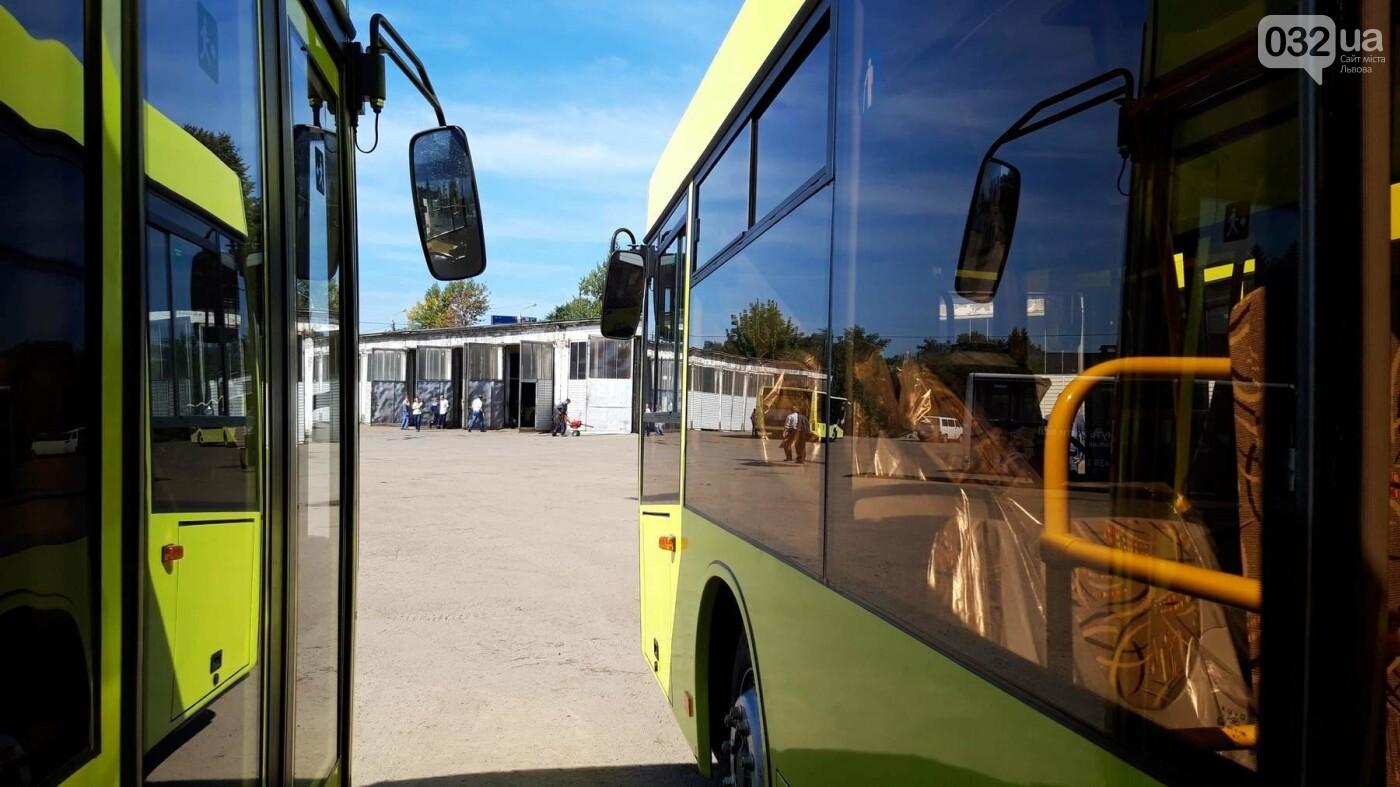 До Львова прибули 16 білоруських автобусів: як вони виглядають та коли почнуть курсувати містом, - ФОТО, фото-1