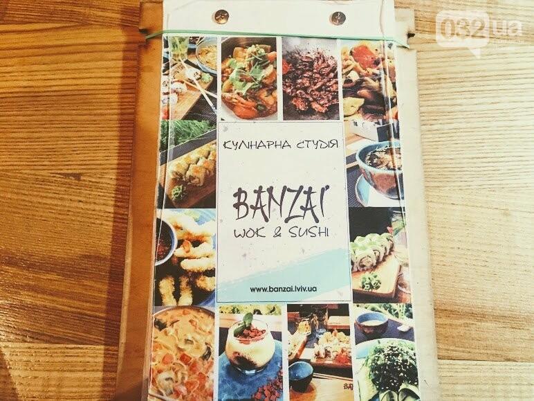"""Тест-драйв закладів Львова: ідемо в кулінарну студію """"Банзай"""", де готують суші , фото-6"""