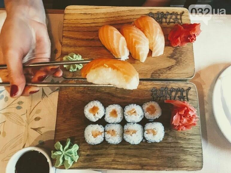 """Тест-драйв закладів Львова: ідемо в кулінарну студію """"Банзай"""", де готують суші , фото-10"""