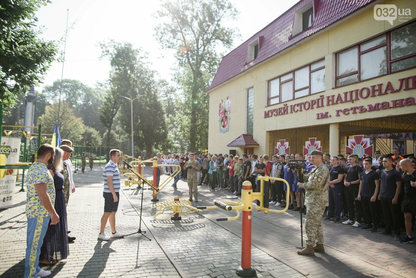 240 студентів Львівщини одночасно підтягнулися на турніках, фото-3