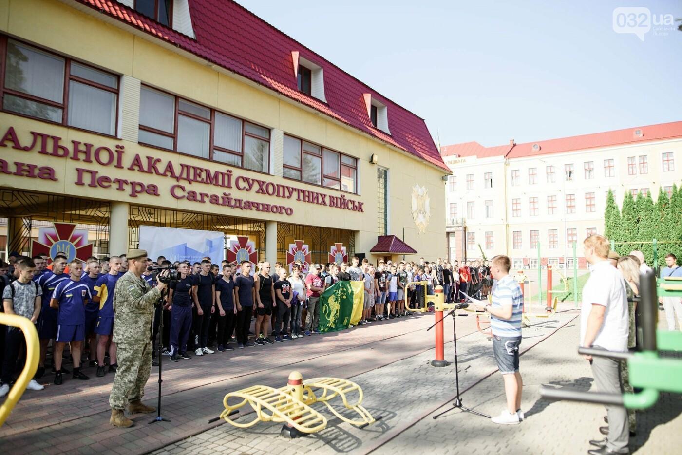 240 студентів Львівщини одночасно підтягнулися на турніках, фото-10
