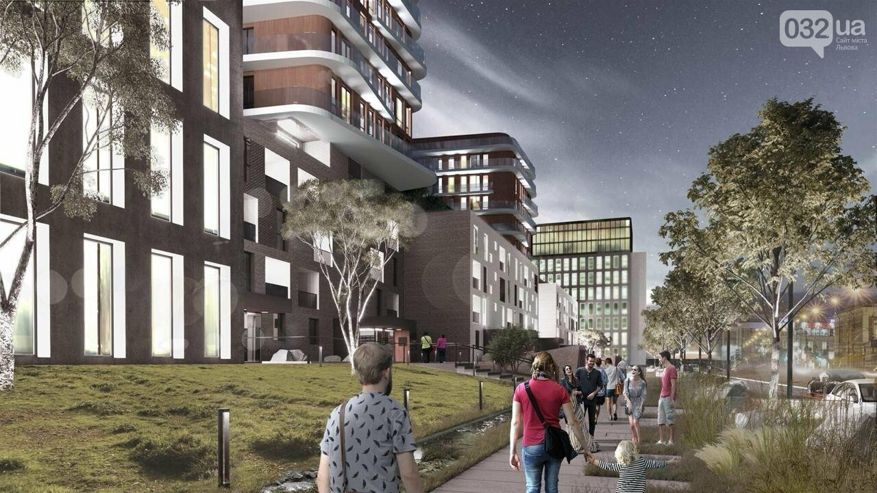 Як виглядатиме новий житлово-офісний комплекс на Зеленій, 151, - ВІЗУАЛІЗАЦІЯ, фото-3
