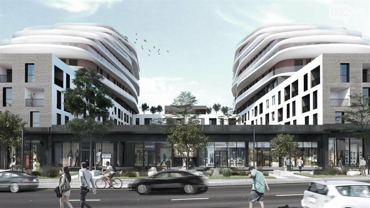 Як виглядатиме новий житлово-офісний комплекс на Зеленій, 151, - ВІЗУАЛІЗАЦІЯ, фото-4