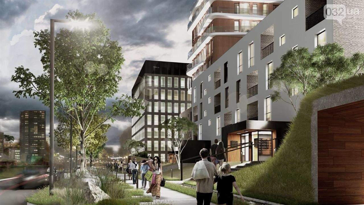 Як виглядатиме новий житлово-офісний комплекс на Зеленій, 151, - ВІЗУАЛІЗАЦІЯ, фото-1