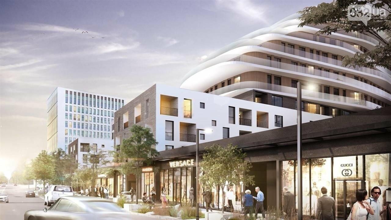 Як виглядатиме новий житлово-офісний комплекс на Зеленій, 151, - ВІЗУАЛІЗАЦІЯ, фото-2