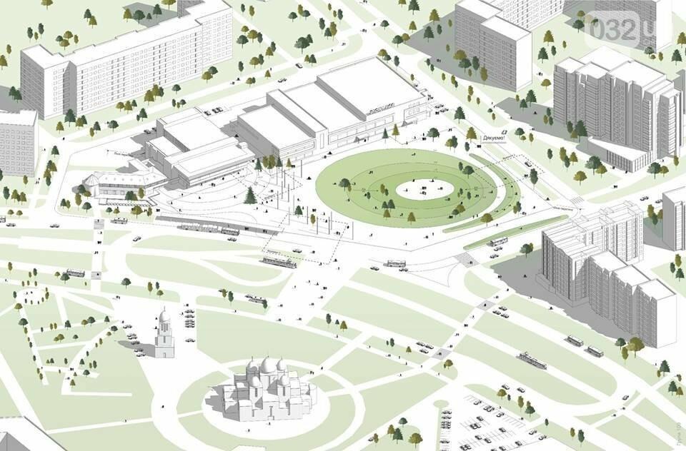 Петиція щодо реконструції площі Довженка на Сихові за тиждень набрала більше 500 голосів, фото-1