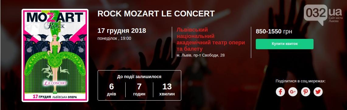 """У Львівській Опері покажуть українську копію рок-опери """"Моцарт"""", учасників якої підозрюють у плагіаті, фото-2"""