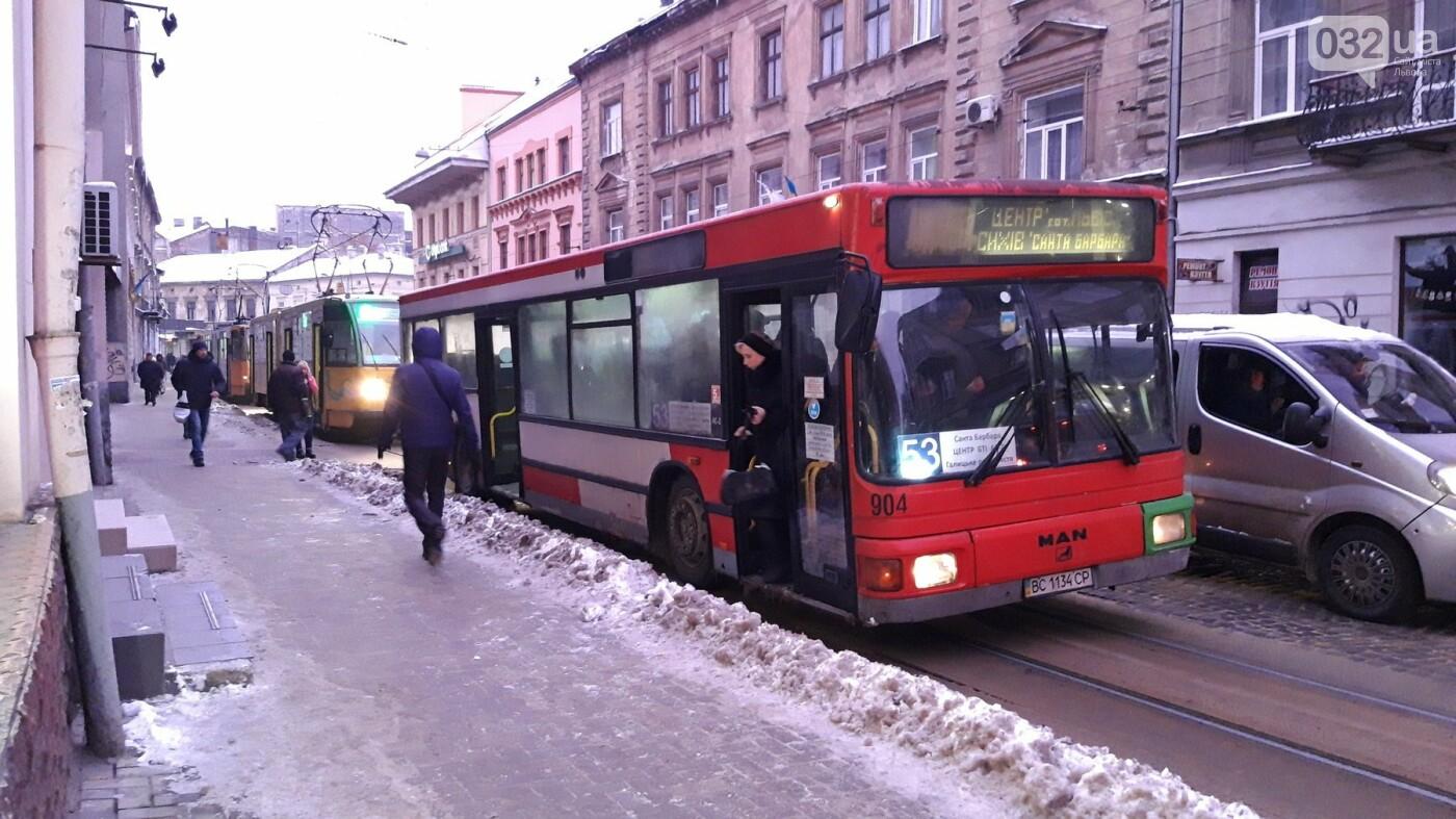 Ситуація на дорогах Львова: затор на вулиці Франка, - ФОТО, фото-1