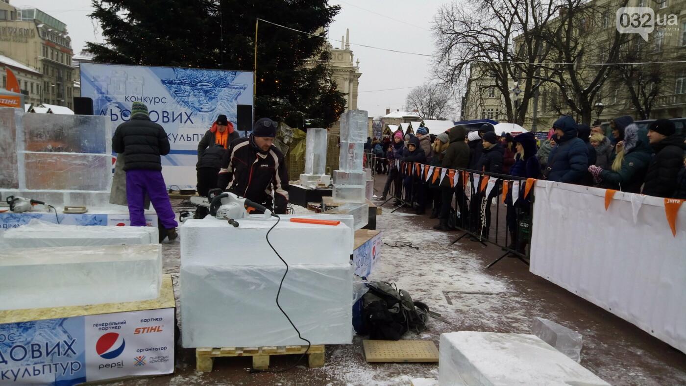 У Львові розпочався Фестиваль Льодових Скульптур 6139b1c9ff838