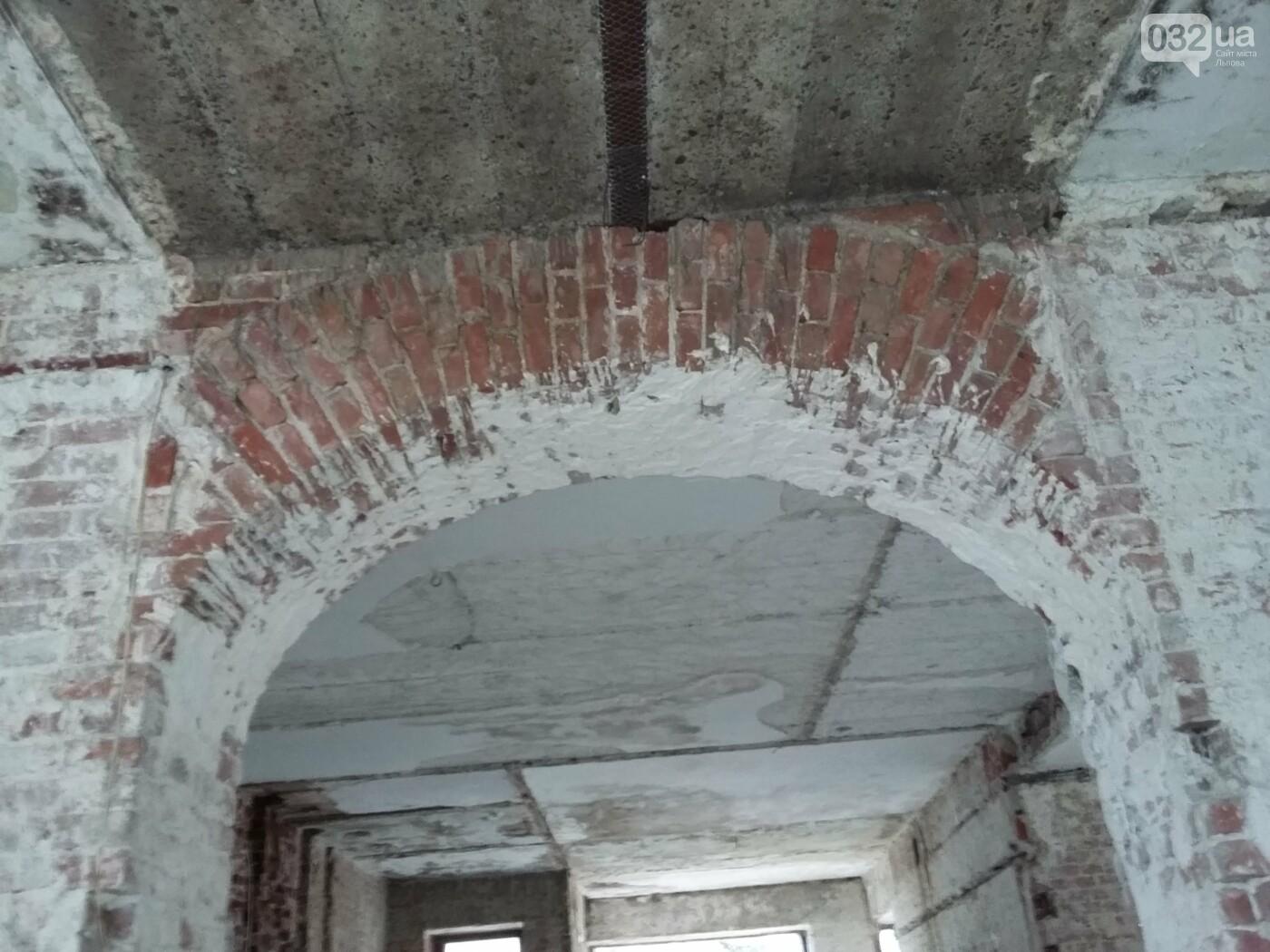 Існуючий стан будівлі: фото ЛМР