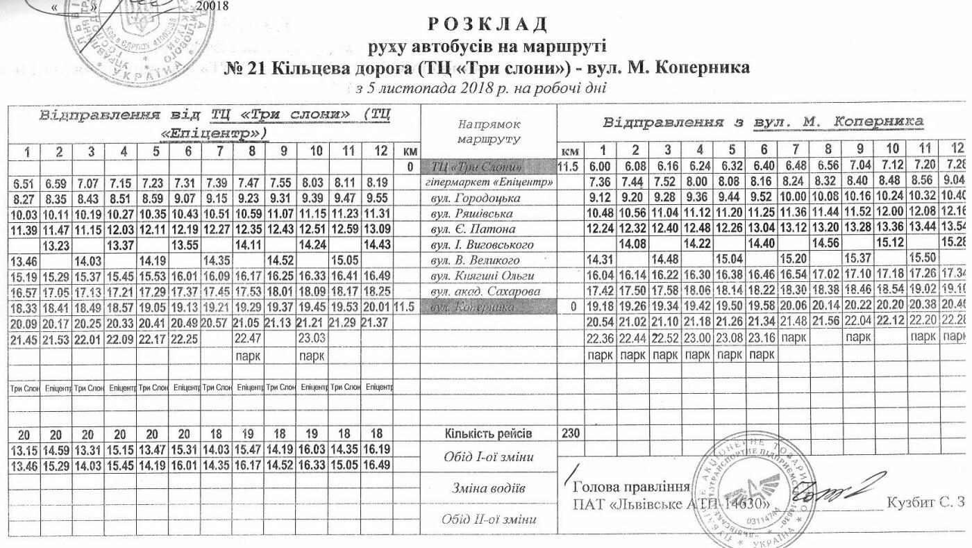 Як у Львові курсують автобуси, - АКТУАЛЬНІ ГРАФІКИ РУХУ, фото-20