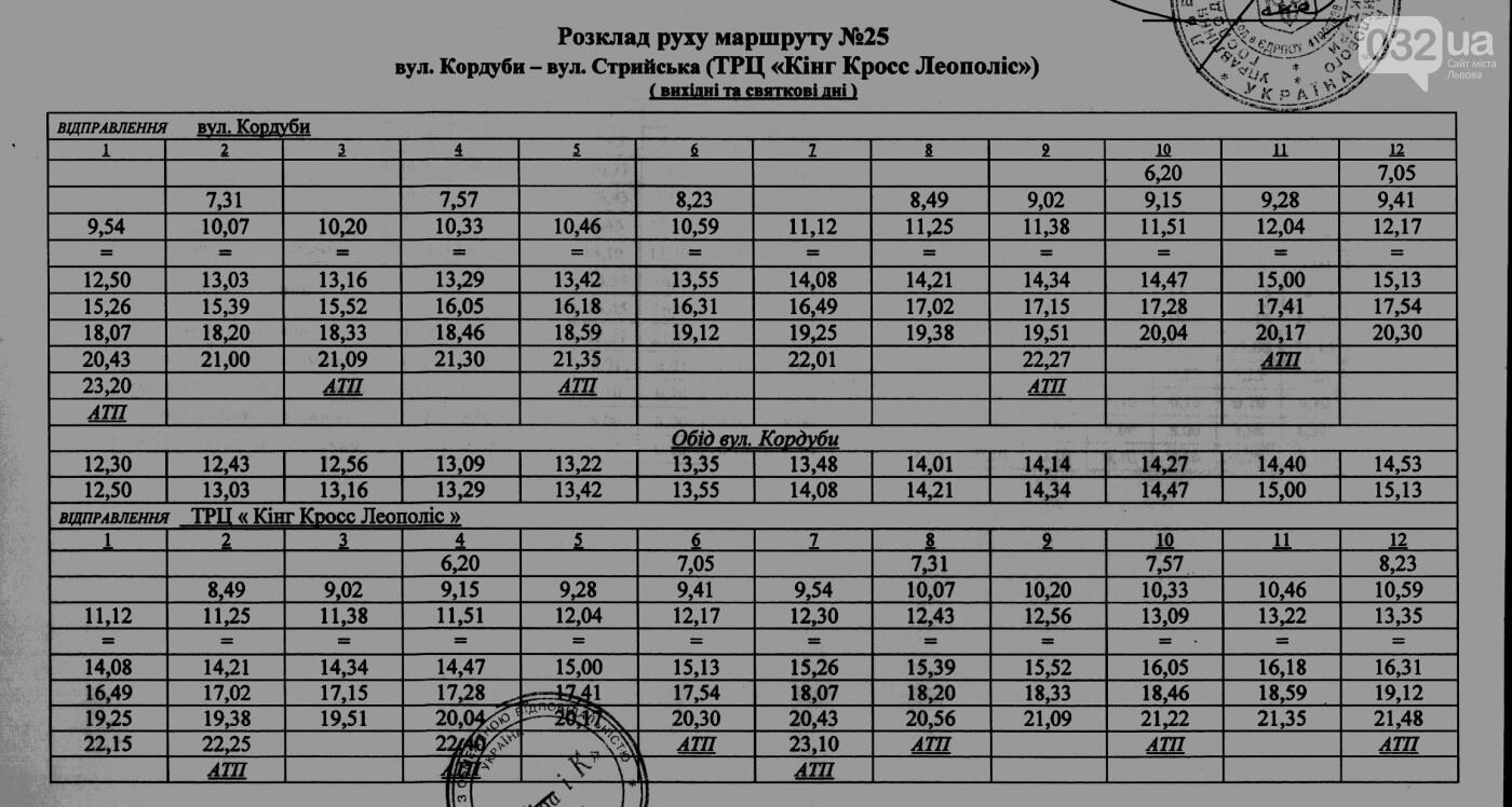 Як у Львові курсують автобуси, - АКТУАЛЬНІ ГРАФІКИ РУХУ, фото-27