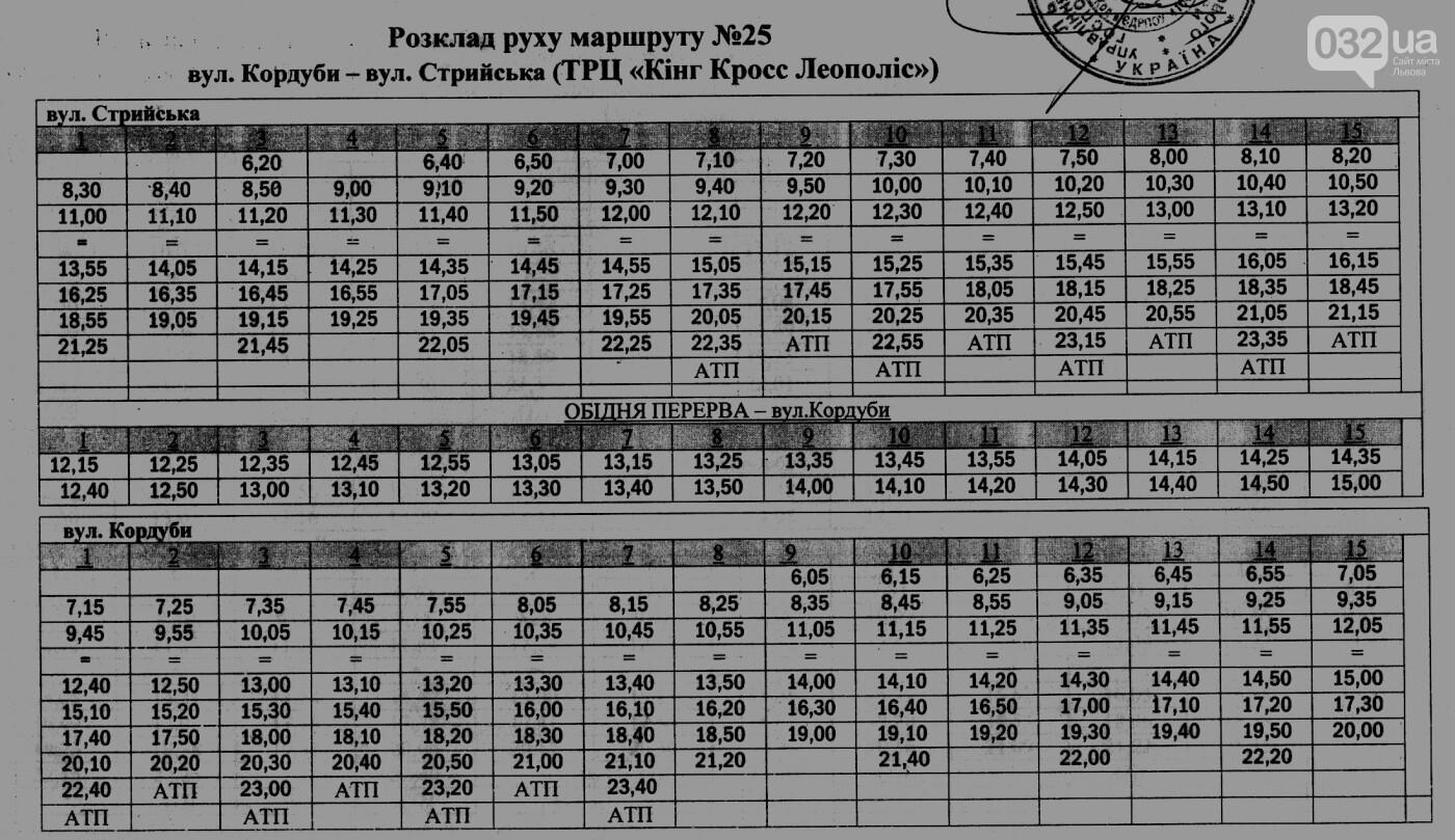 Як у Львові курсують автобуси, - АКТУАЛЬНІ ГРАФІКИ РУХУ, фото-28