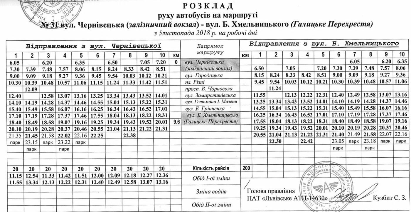 Як у Львові курсують автобуси, - АКТУАЛЬНІ ГРАФІКИ РУХУ, фото-39