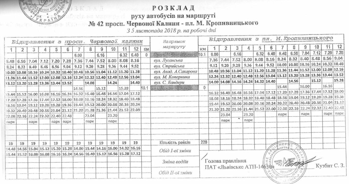 Як у Львові курсують автобуси, - АКТУАЛЬНІ ГРАФІКИ РУХУ, фото-54