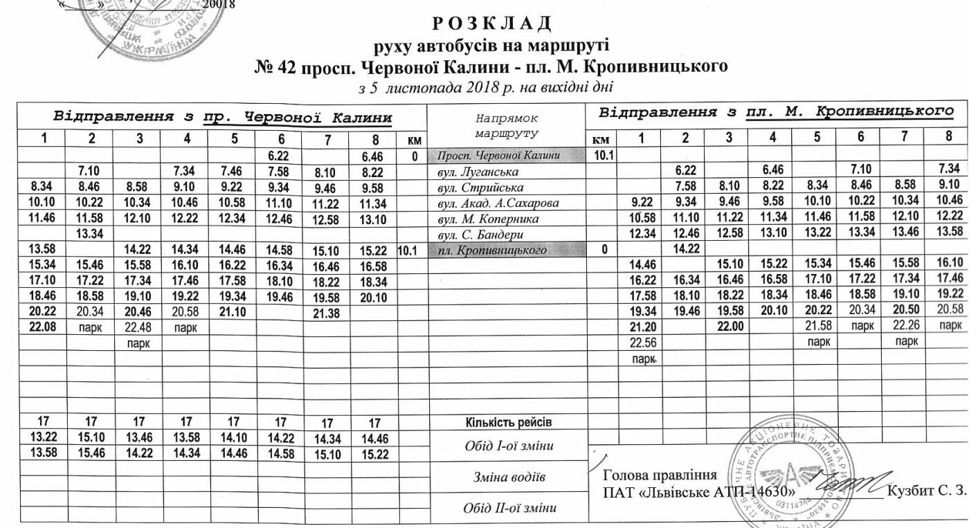 Як у Львові курсують автобуси, - АКТУАЛЬНІ ГРАФІКИ РУХУ, фото-53