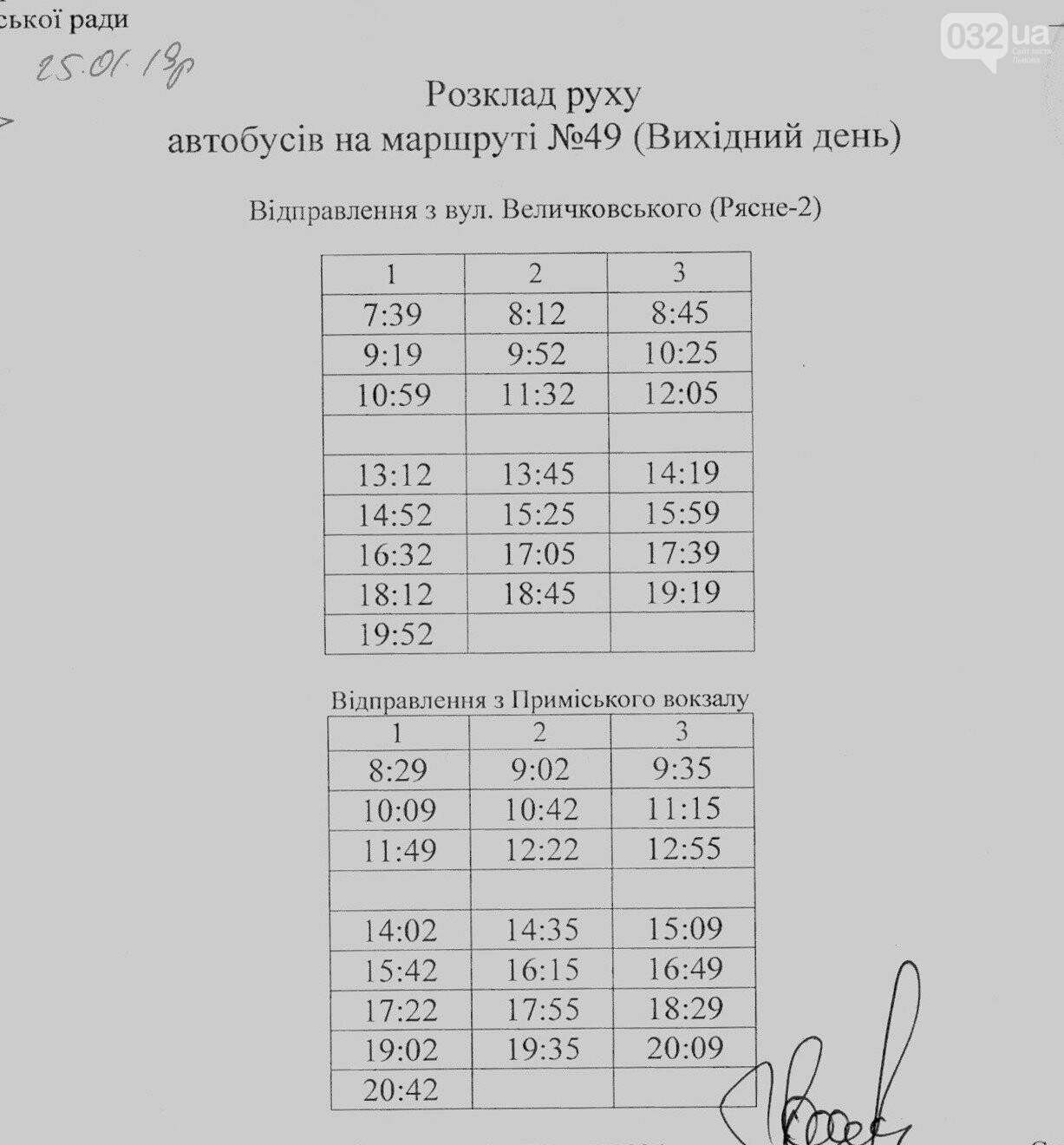 Як у Львові курсують автобуси, - АКТУАЛЬНІ ГРАФІКИ РУХУ, фото-70