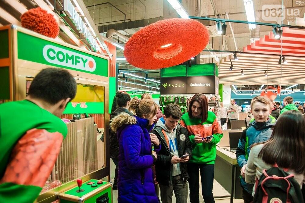 У Львові відкрили новий магазин COMFY, — яскравий фоторепортаж із відкриття, фото-14