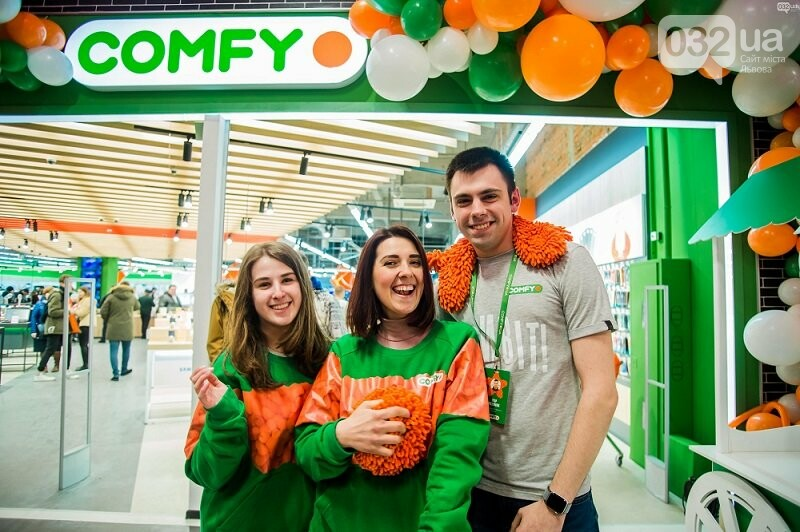 У Львові відкрили новий магазин COMFY, — яскравий фоторепортаж із відкриття, фото-1