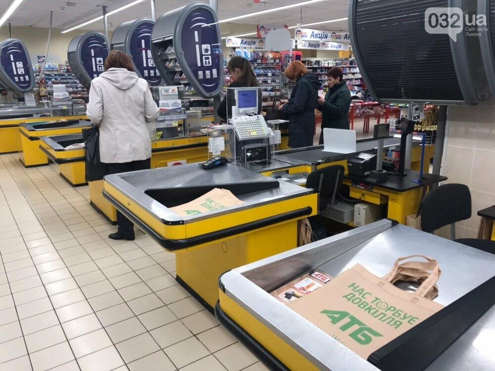 Чи відмовилися супермаркети на Сихові від виробів з поліетилену, - ФОТО, фото-6