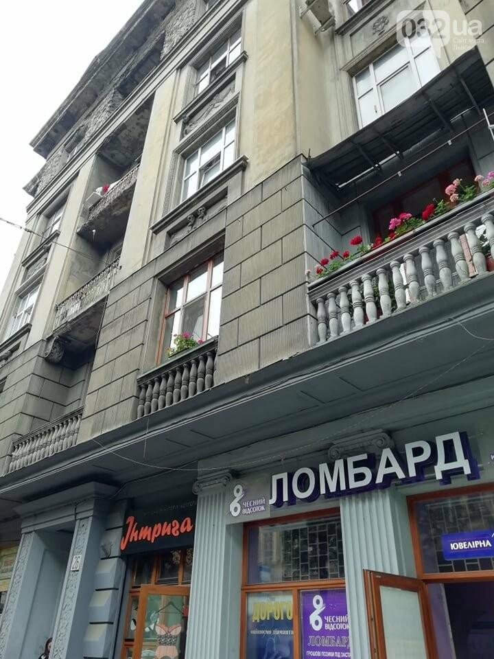 У будинку на вулиці Князя Романа у Львові виявили тріщину на парапетній стінці, - ФОТО, фото-4, Фото: 032.ua