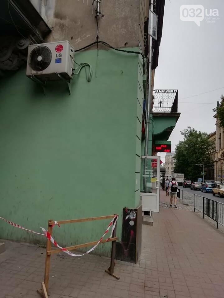 У будинку на вулиці Князя Романа у Львові виявили тріщину на парапетній стінці, - ФОТО, фото-2, Фото: 032.ua