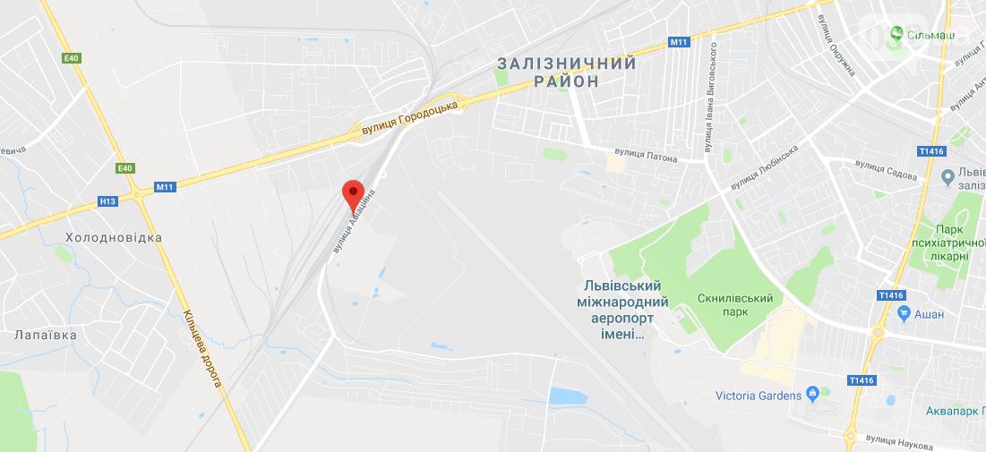 """Неподалік аеропорту """"Львів"""" мають намір спорудити цех з виготовлення бетонних виробів, фото-1"""
