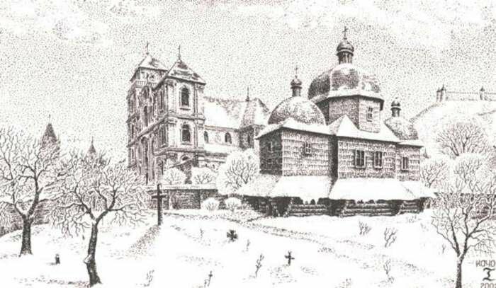 Колишня церква Богоявлення у Львові