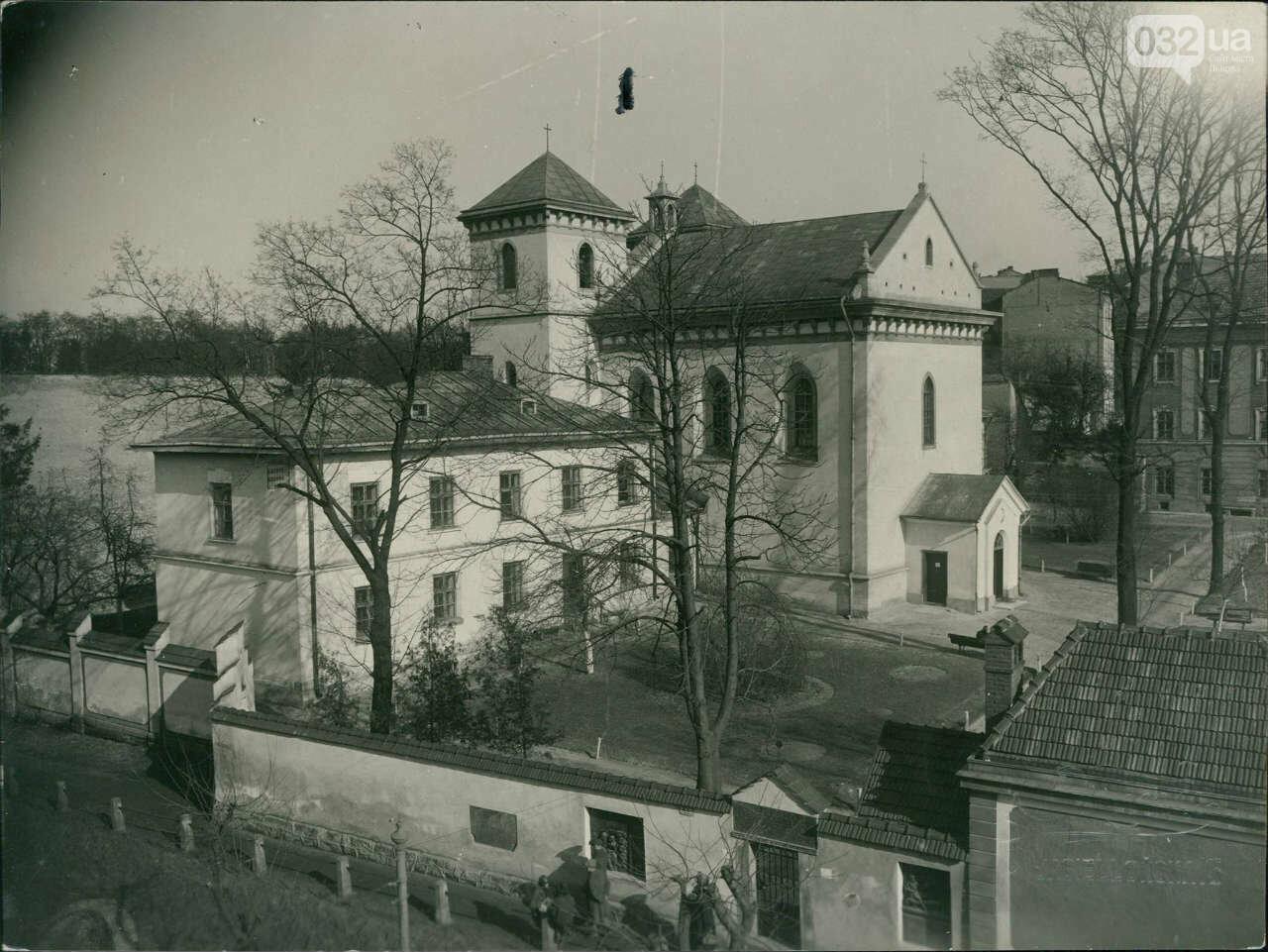 Фотографії старого Львова, шпиталь св. Лазаря