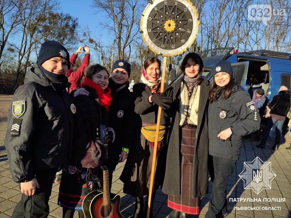Різдво з патрульними, Патрульна поліція Львова
