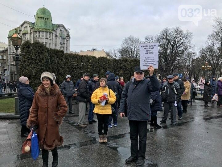 Мітинг профспілок Львівщини, фото 032.ua