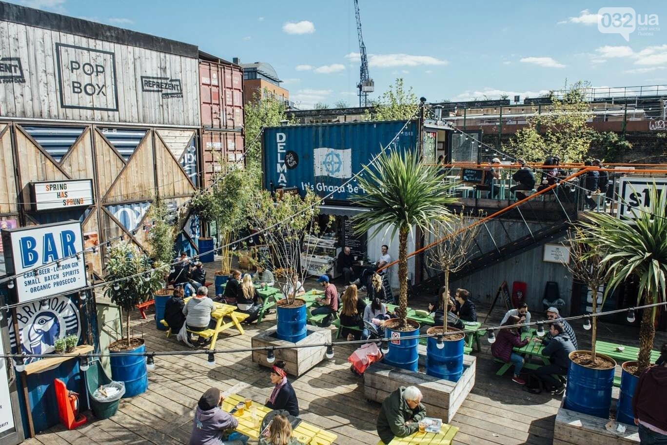 Лондонські майданчики, фото з сайту Pinterest